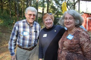 Representative Margaret Doherty in group photo taken at the Salmon Bake Fundraiser